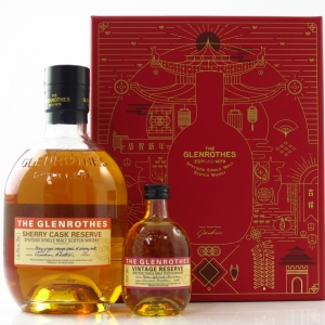 Glenrothes Sherry Cask Reserve Year of the Dog 2018 Gift Pack / Including 10cl