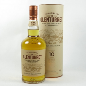 Glenturret 10 Year Old front