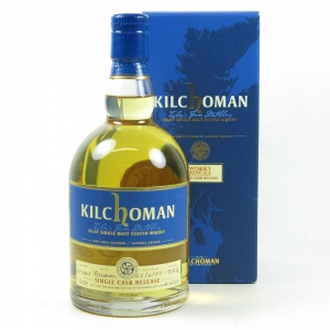 Kilchoman 2007 The Whisky Show Single Cask front