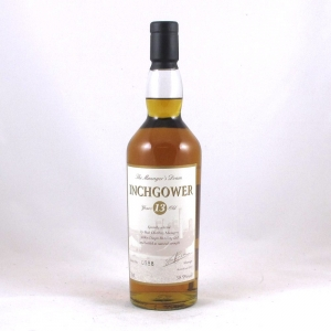 Inchgower 13 Year Old Manager's Dram 2007 Front