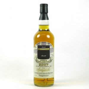 Speyside 2007 Jim Marshall 12 Year Old Front