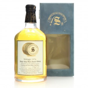 Port Ellen 1976 Signatory Vintage 21 Year Old