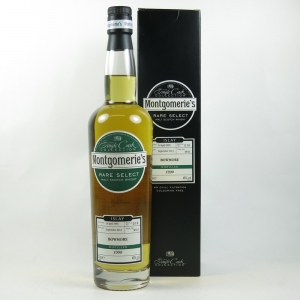 Bowmore 1990 Montgomerie's Select 23 Year Old Front