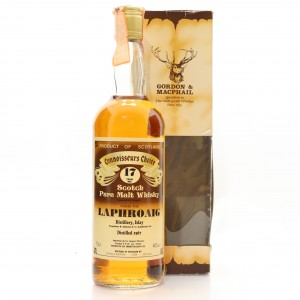 Laphroaig 1967 Gordon and MacPhail 17 Year Old / Co. Pinerolo Import