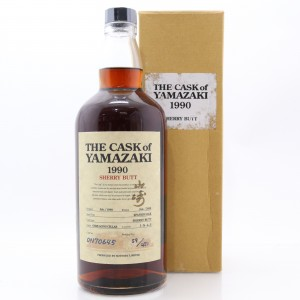 Yamazaki 1990 Single Cask #ON70645 / Sherry Butt