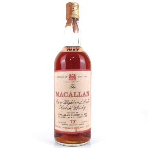 Macallan 1937 Gordon and MacPhail 1970s / Pinerolo Import