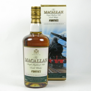 Macallan Decades Forties front