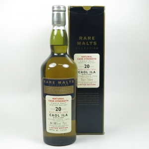 Caol Ila 1975 rare malt 20 year old 75cl