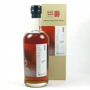 Karuizawa 1981 33 Year Old Single Cask #136 front