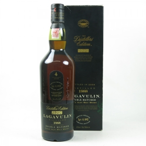 Lagavulin 1988 Distillers Edition Front