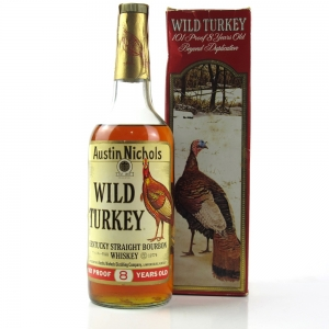 Wild Turkey 8 Year Old 1980s
