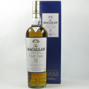 Macallan 18 Year Old Fine Oak Front