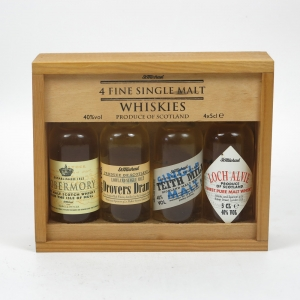 St Michael's Miniature Giftpack 4 x 5cl