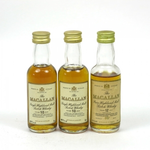 Macallan Miniature Selection 3 x 5cl
