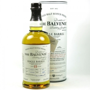 Balvenie 1999 15 Year Old Single Barrel Front