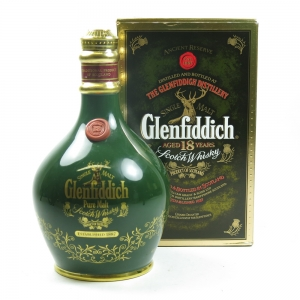 Glenfiddich 18 Year Old Ancient Reserve Decanter Front