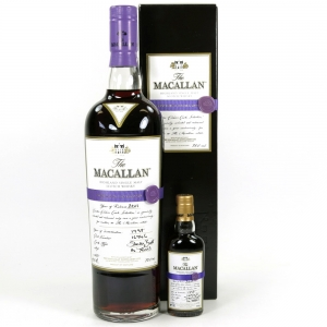 Macallan 1997 Easter Elchies 2011 Including Miniature
