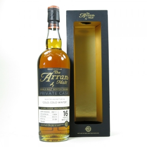 Arran 1998 Private Cask 16 Year Old / Cold, Cold Winter