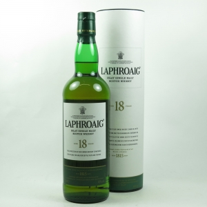Laphroaig 18 Year Old front
