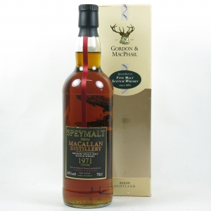 Macallan 1971 Speymalt Gordon and Macphail Front