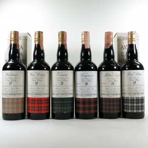 Marchesi Spinola Collection No.1 6 x 70cl / Including Port Ellen 1974