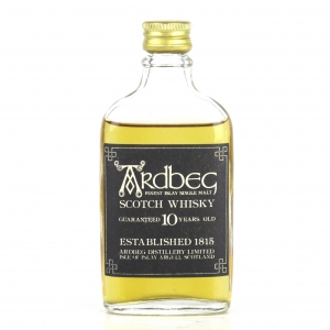 Ardbeg Guaranteed 10 Year Old Miniature 1970s