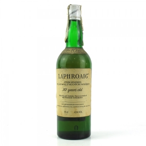 Laphroiag 10 Year Old 1980s