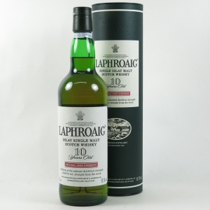 Laphroaig 10 Year Old Cask Strength front