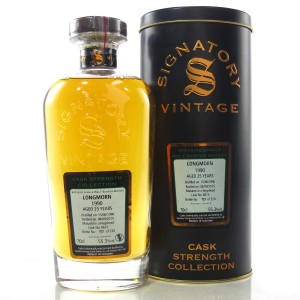 Longmorn 1990 Signatory Vintage 25 Year Old Cask Strength
