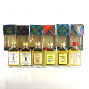 Gordon and MacPhail Blended Malt Miniatures x 6 1970/80s