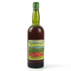 Blue Mountain Jamaican Rum Circa 1940s/1950s
