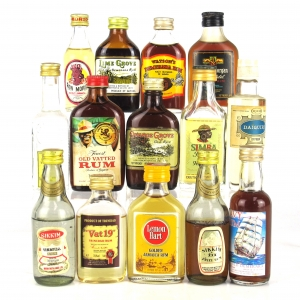 Rum Selection 15 x Miniature