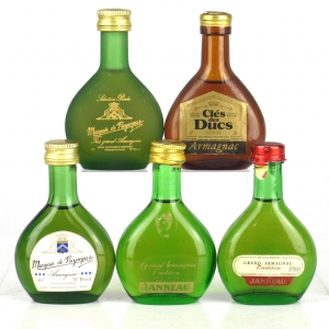 Armagnac Selection 5 x Miniature