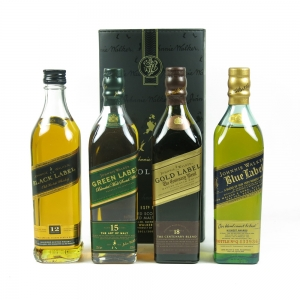 Johnnie Walker The Collection 4 x 20cl front