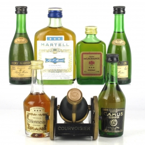 Cognac Selection 8 x Miniature