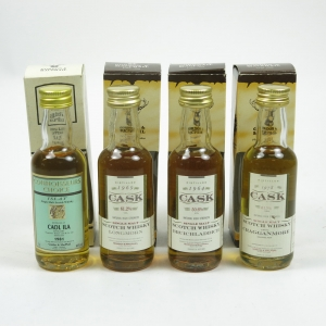Miscellaneous Gordon and Macphail Miniatures 4 x 5cl