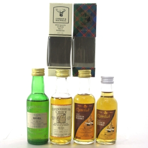 Clynelish / Brora Miniature Selection x 4