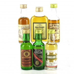 Miscellaneous Blended & Blended Malt Miniature Selection x 6