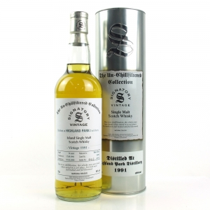 Highland Park 1991 First Cask 18 Year Old