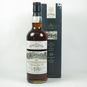 Glendronach 1973 18 Year Old Front
