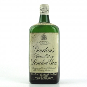 Gordon's London Special Dry Gin 1950/60s