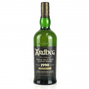 Ardbeg 1990 Cask Strength Bottled 2004 / Japanese Import