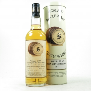 Glen Albyn 1977 Signatory Vintage 21 Year Old