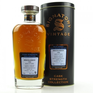 Bruichladdich 1990 Signatory Vintage 24 Year Old Cask Strength