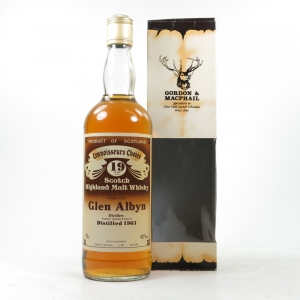 Glen Albyn 1963 Gordon and Macphail 19 Year Old