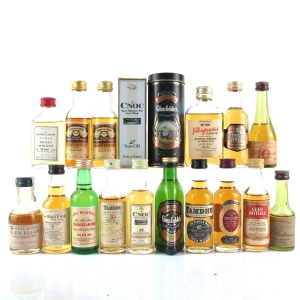Speyside Single Malt Miniature Selection 12 x 5cl