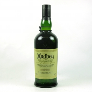 Ardbeg Very Young 1998 front