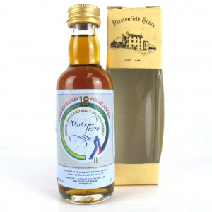 Glendronach 1970 Prestonfield House 18 Year Old Miniature 5cl