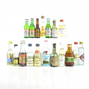 Herbal Liqueur and Spirit Selection 18 x Miniature