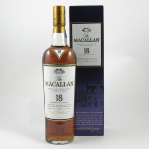Macallan 1995 18 Year Old front